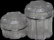 Tall Survival Capsule Geocache Container