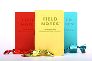 Field Notes Sweet Tooth Edition, Plain Paper, 3-Pack