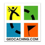 Full Colour Geocaching Sticker