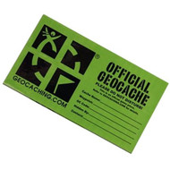 Large Geocaching cache sticker