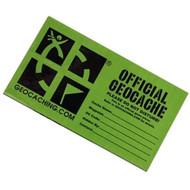 Large Geocaching cache sticker