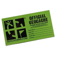 Medium geocaching cache sticker