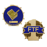 First To Find FTF Full Size Geocoin
