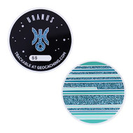 Solar System Geocoin - Uranus