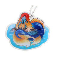 Hidden Creatures Travel Tag - Mermaid