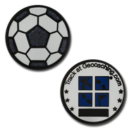 Soccer Ball Mini Geocoin