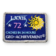 72 Finds in 24 Hours Geo-Achievement™ Patch