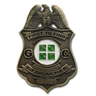 FTF Badge Antique Bronze