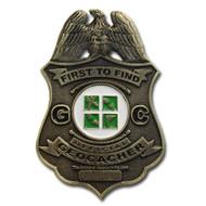 FTF Badge Antique Bronze