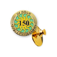 150 Finds in 24 Hours Geo-Achievement Pin