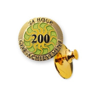 200 Finds in 24 Hours Geo-Achievement Pin