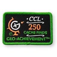 250 Finds Geo-Achievement Patch