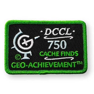 750 Finds Geo-Achievement Patch