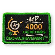 4000 Finds Geo-Achievement Patch