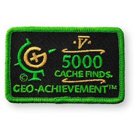 5000 Finds Geo-Achievement Patch
