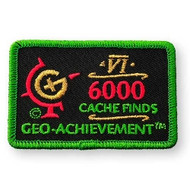 6000 Finds Geo-Achievement™ Patch