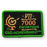 7000 Finds Geo-Achievement Patch