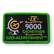 9000 Finds Geo-Achievement™ Patch