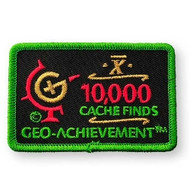 10000 Finds Geo-Achievement™ Patch
