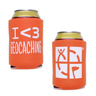 Geocaching Stubby Holder - Orange