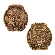 Pirates of Buccaneer Bay Geocoin - Antique Gold