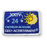 24 Finds in 24 Hours Geo-Achievement™ Patch