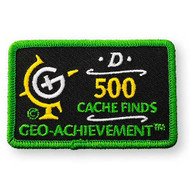 500 Finds Geo-Achievement™ Patch