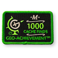 1000 Finds Geo-Achievement™ Patch
