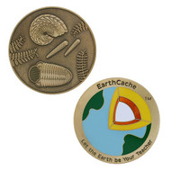EarthCache™ Geocoin and tag set