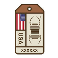 Travel Bug Origins Sticker - United States