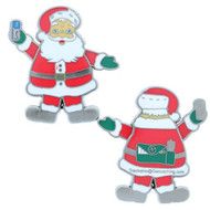 Santa Caching in the World Geocoin