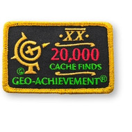 20000 Finds Geo-Achievement Patch