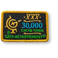 30000 Finds Geo-Achievement Patch