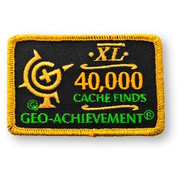 40000 Finds Geo-Achievement Patch