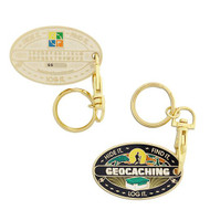 Hide It. Find It. Log It. Geocoin.