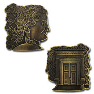 Temple Romulus Geocoin and Pin Set