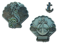 My Home is the Open Sea Geocoin and Pin Set