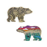Spirit of the Wilderness Geocoin and Pin Set