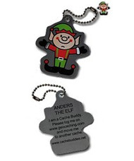 Anders the Elf Travel Tag