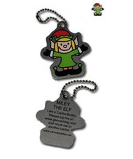 Miley the Elf Travel Tag