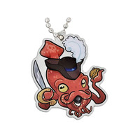 Squid Beard travel Tag