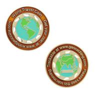 World Travel Geocoin