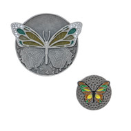 Never Hide Your Wings Coin & Pin Set