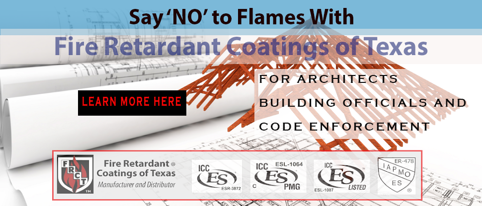 Fire Retardants for Architects, Building Officials and Code Enforcement
