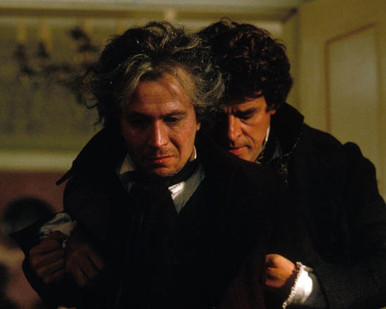 Gary Oldman & Jeroen Krabbe in Immortal Beloved Poster and Photo