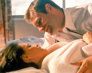 Aaron Eckhart & Stacy Edwards in In the Company of Men Poster and Photo