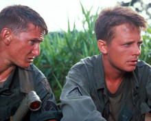 Sean Penn & Michael J. Fox in Casualties of War Poster and Photo