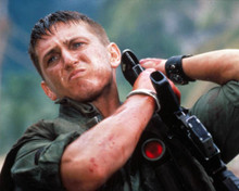 Sean Penn in Casualties of War Poster and Photo