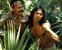 Jason Scott Lee & Sam Neill in Rudyard Kipling's Jungle Book aka The Jungle Book (1994) Poster and Photo