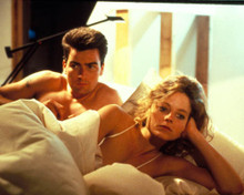 Charlie Sheen & Jodie Foster in Catchfire Poster and Photo